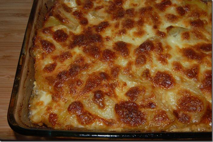 Zapečené brambory s krůtím masem a Mozarellou01_net