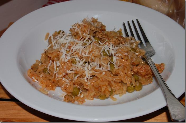 České rizoto - Pilaf