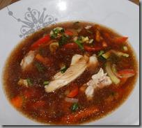 Čínská polévka s pečeným kuřetem03