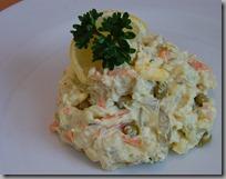 porce salátu