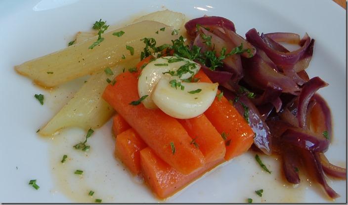 glazírovaná zelenina