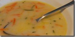 Jemná rybí polévka s restovanou zeleninkou Julienne01