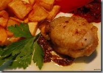 Pálivé kuřátko s Mozarellou a smažené brambůrky02