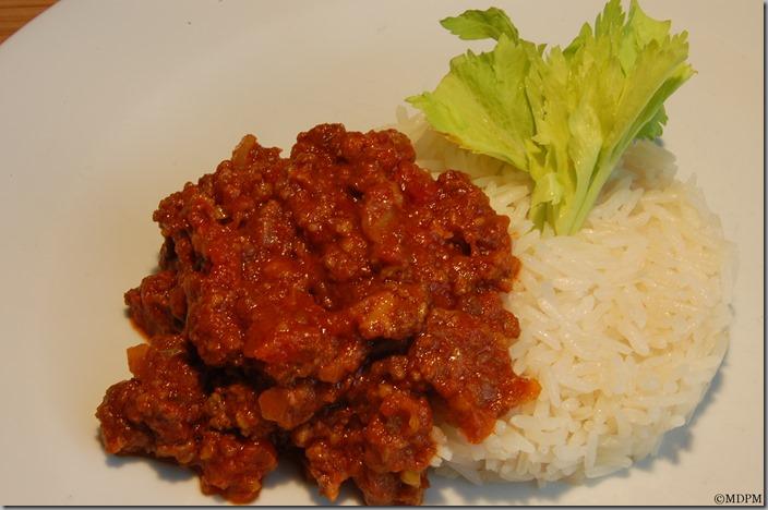 maso,rýže
