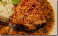 Kuřecí špalíky na majoránce a petrželková rýže s lanýžovým olejem04