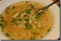Česneková polévka - Oukrop01
