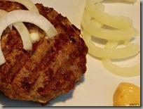 Minimalistic czech burger art01