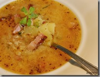 Uzená polévka s restovanými bramborami03