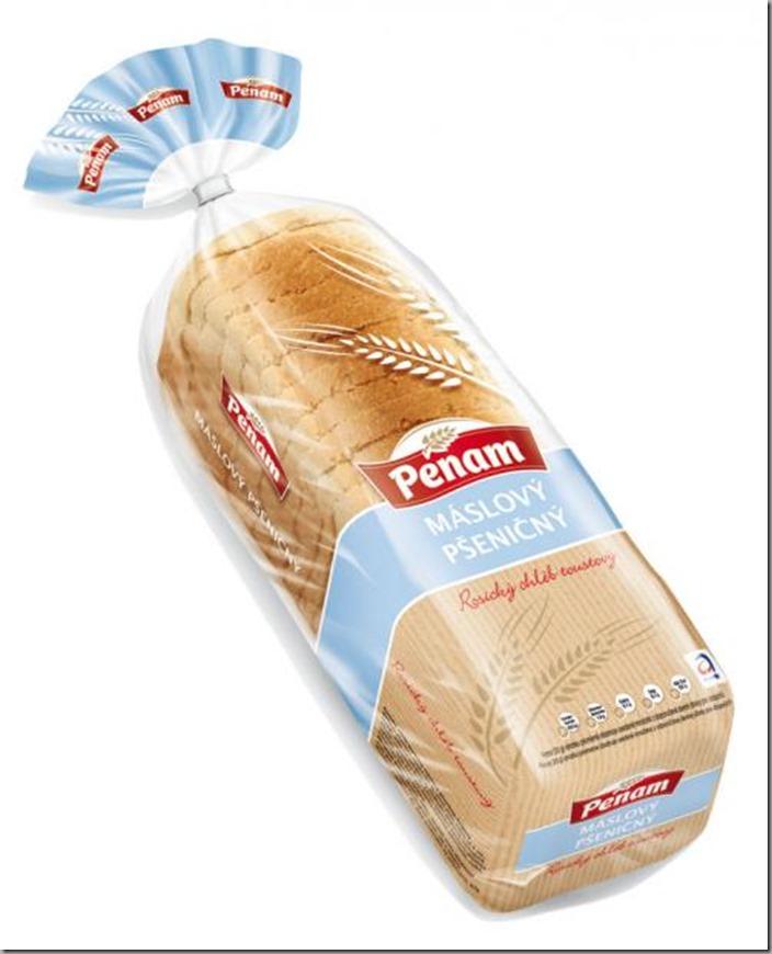Chléb rosický toustový máslový 500g