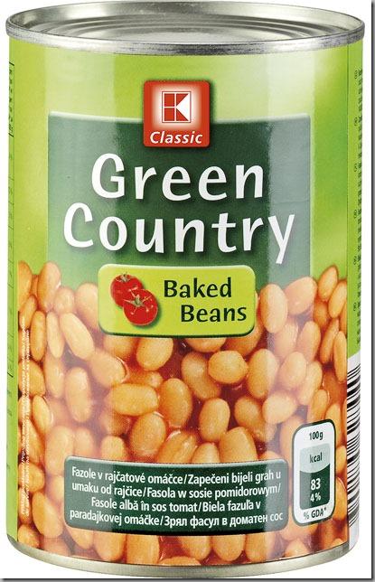 pečené fazole v tomato nebo chilli omáčce