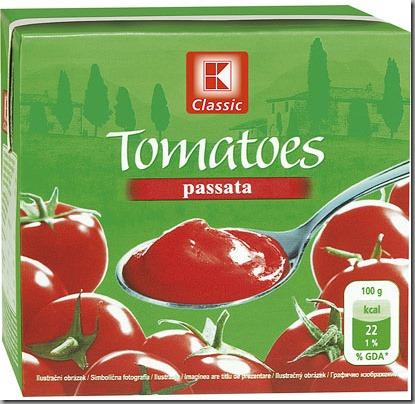rajčata pasírovaná