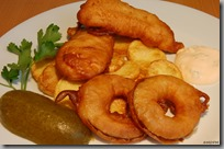 Chicken Strips & Onion Rings & Potato Chips04