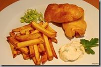 Fish & Chips s domácími hranolky a tatarkou