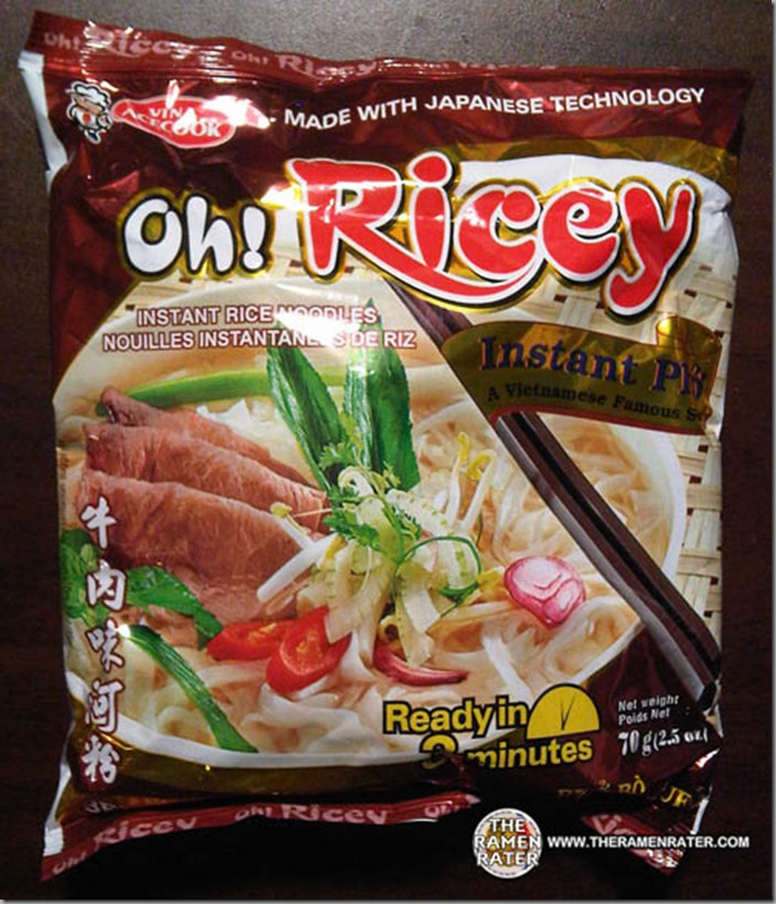 Oh! Ricey Phở Bò Instant Rice Soup