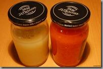 česnekový a feferonkový olej