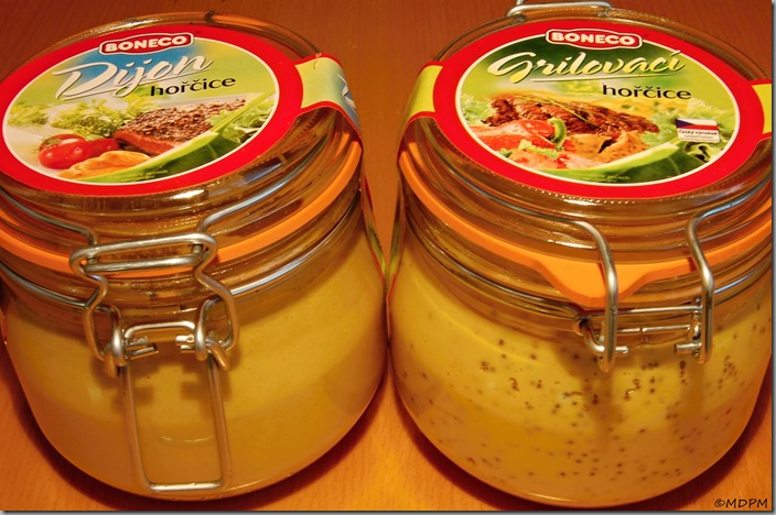 hořčice BONECO Dijon a Grilovací
