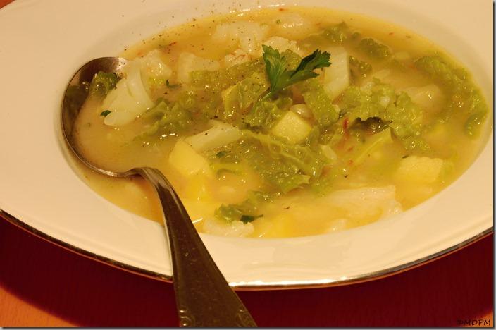 květáková polévka s kapustou02