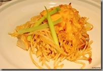 Špagety s kuřecím masem zapečené se sýrem Cheddar02
