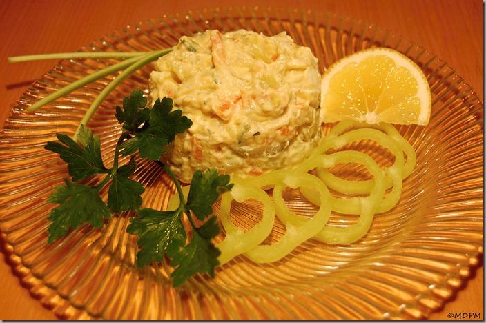 Bramborový salát vánoční pro Snídani s Novou01