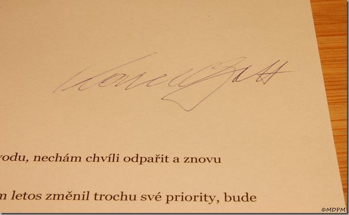 podpis Karel Gott