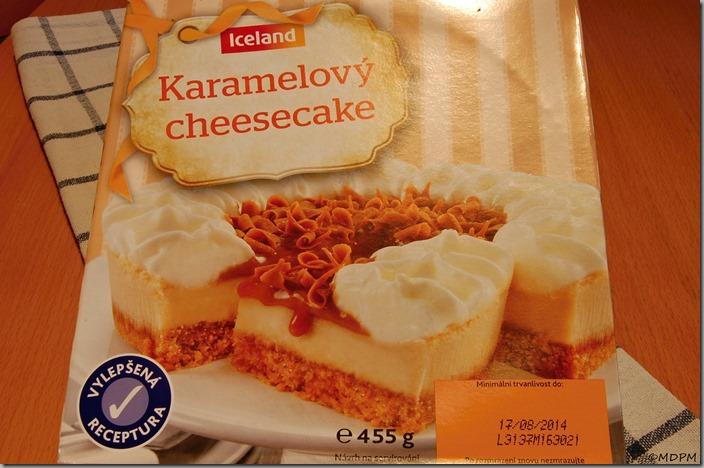 Karamelový Cheesecake 455g - 45,- Kč
