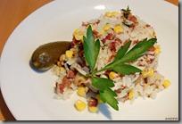 05Smažená rýže s krůtím masem z konfitu