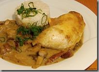 Kuře v hříbkové omáčce03