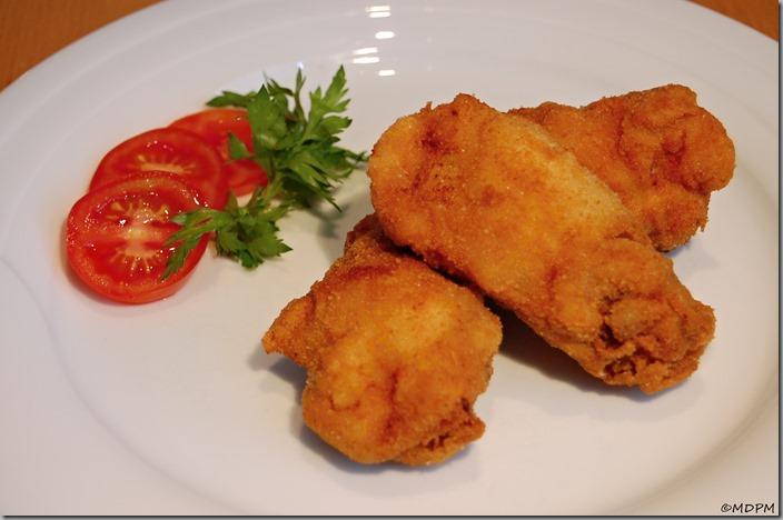 Smažené kuře - křídla06