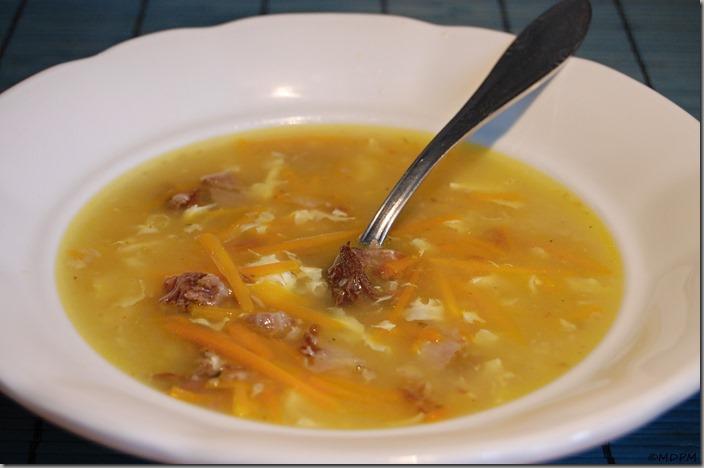 02 - hovězí polévka z papiňáku