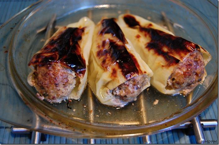 15 - Plněné papriky - pečené