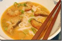 lososová kari polévka s treskou marinovanou v rybí omáčce05