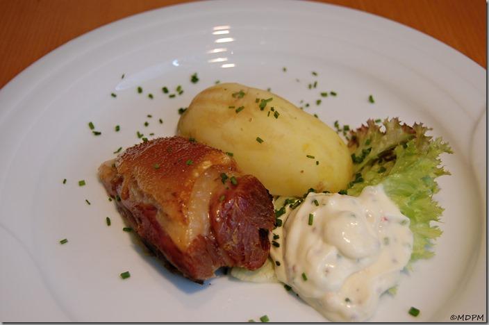 marinované kolínko, raný brambor, domácí tatarka01