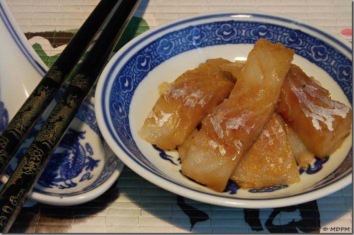 01-Bún Cá-treska v rybí omáčce s česnekem