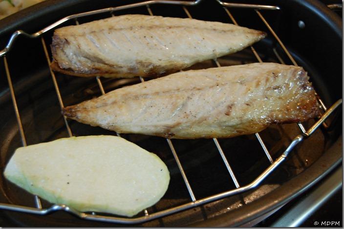 03-Grilovaná makrela a ragů z patizonu-gril