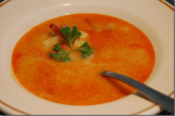 Frankfurtská polévka s ďábelským kabanosem