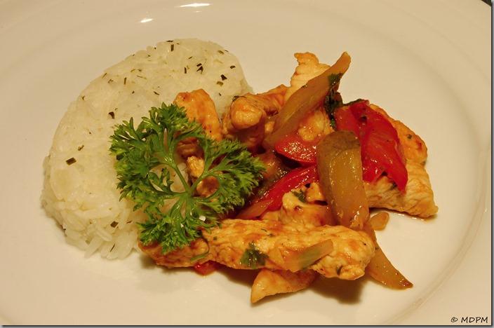 kaťák - rýže
