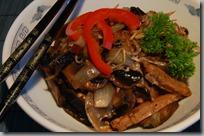čína pro vegetariány
