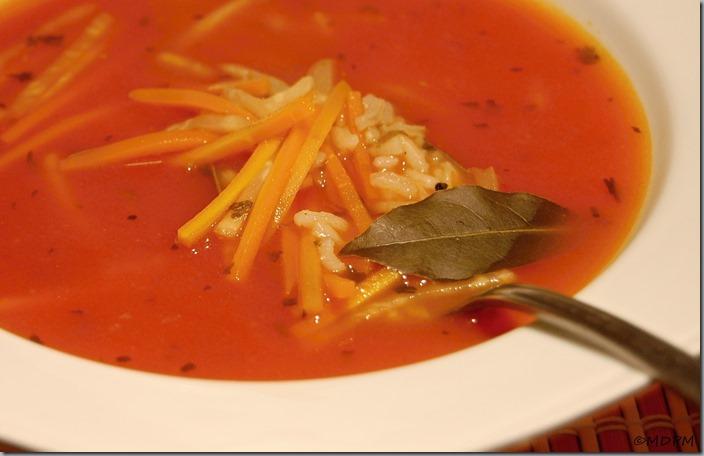 Jižanská rajčatová polévka02