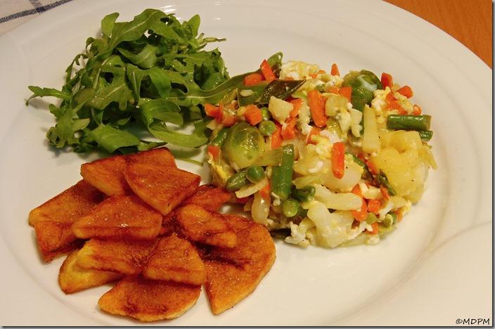 Restovaná zelenina svejci a