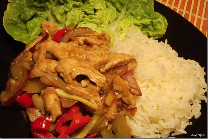 08-čína naprudko s jasmínovou rýží