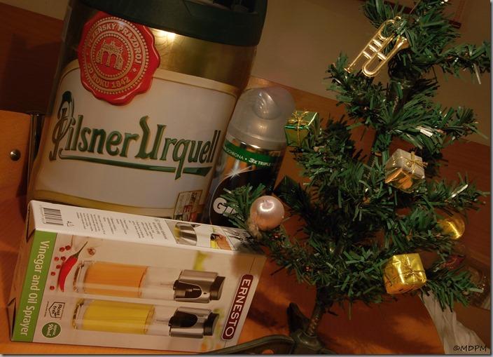 stromeček a dárky