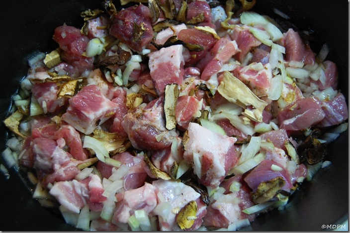 01-maso s cibulí, česnekem a hříbky