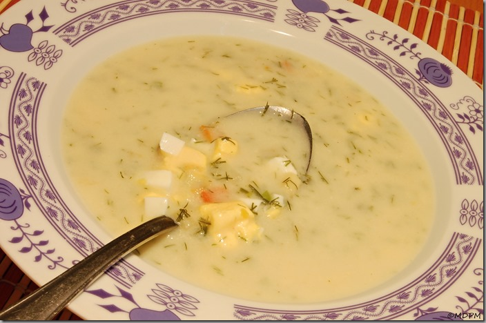 Koprová polévka s jablečným octem a sušenou zeleninou01