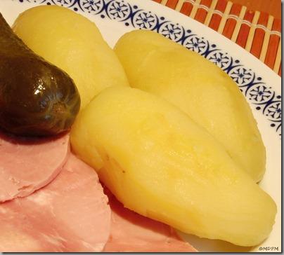 připravené brambory