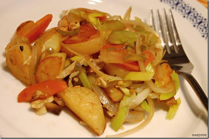07-Restovaná zelenina s brambory a balsamicem