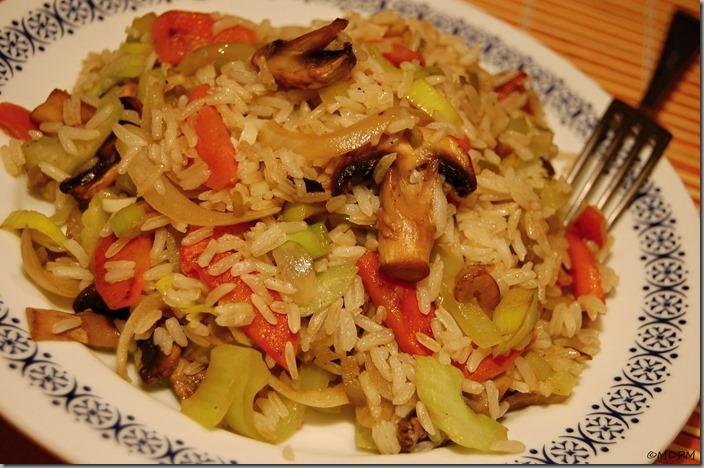 07-Restovaná zelenina s rýží a  balsamicem