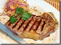 09-steak čestr a žlutá čočka na medu s červenou cibulkou