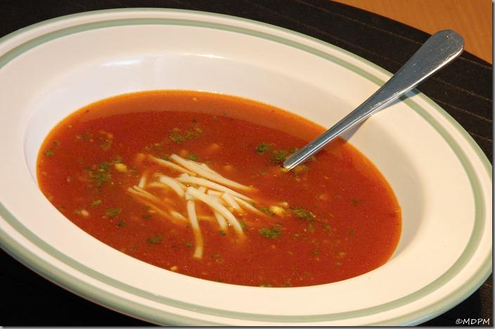 02-rajská polévka