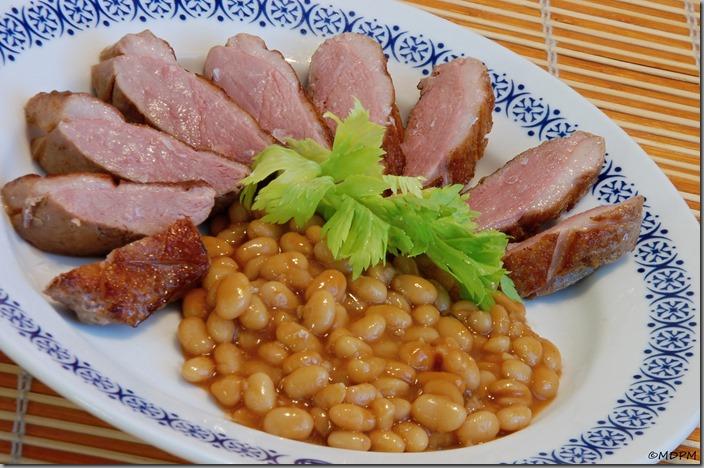 06-kachní prso sous vide s bílou fazolí