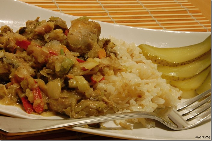 08-maso se zeleninou a slaninovou rýží
